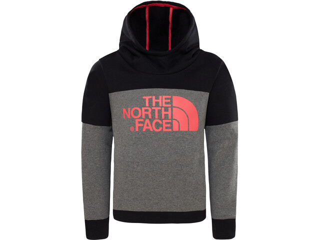 The North Face Drew Peak Huppari Tytöt, tnf medium grey heather